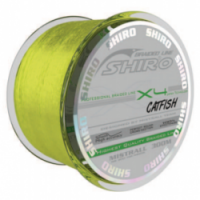 Шнур MISTRALL Shiro BL Catfish Flu Green 0.50mm 300m