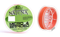 Шнур DuraKing Natuna Micro X4 100m 0.10mm Orange