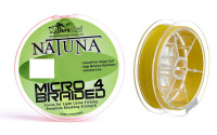 Шнур DuraKing Natuna Micro X4 100m 0.10mm Yellow