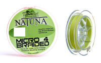 Шнур DuraKing Natuna Micro X4 100m 0.10mm FluoYellow